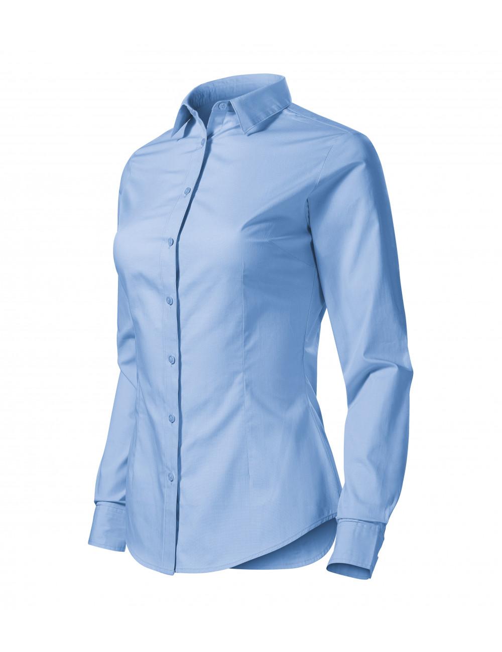 Adler MALFINI Koszula damska Style LS 229 błękitny