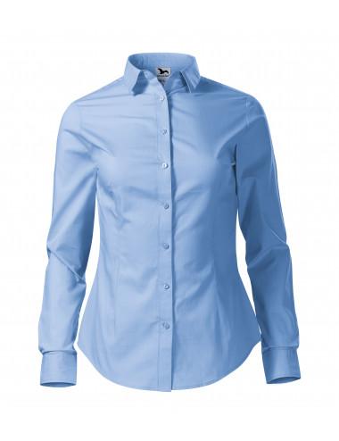 2Adler MALFINI Koszula damska Style LS 229 błękitny