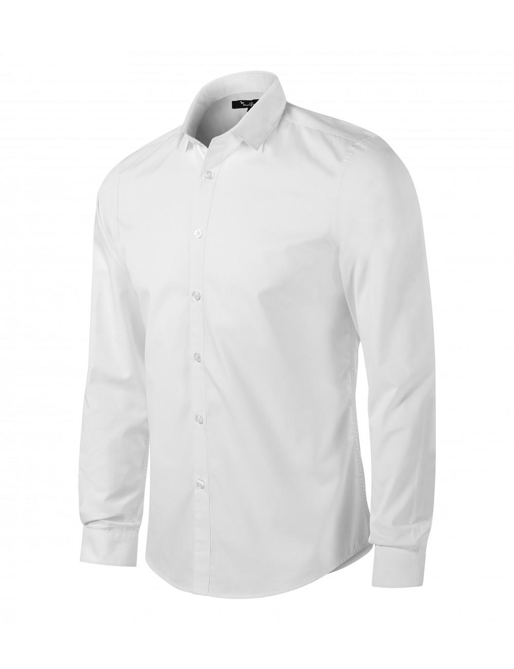 Adler MALFINIPREMIUM Koszula męska Dynamic 262 biały