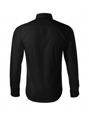 2Adler MALFINIPREMIUM Koszula męska Dynamic 262 czarny