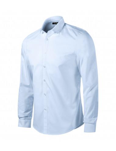 2Adler MALFINIPREMIUM Koszula męska Dynamic 262 light blue