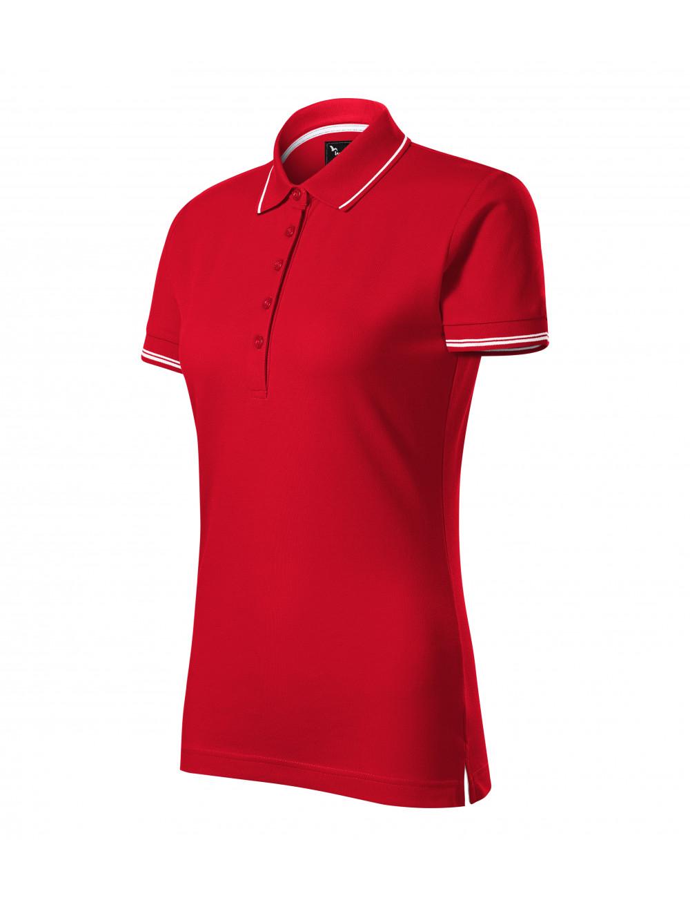 Adler MALFINIPREMIUM Koszulka polo damska Perfection plain 253 formula red