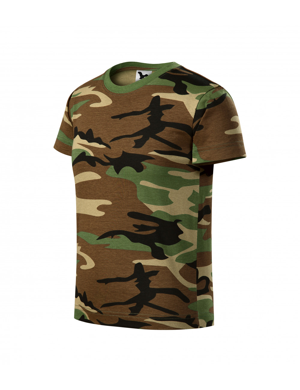 Adler MALFINI Koszulka dziecięca Camouflage 149 camouflage brown