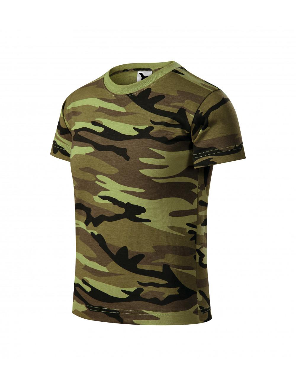 Adler MALFINI Koszulka dziecięca Camouflage 149 camouflage green