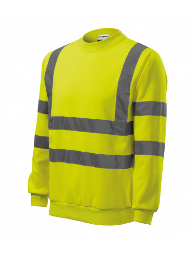 Adler RIMECK Bluza unisex HV Essential 4V6 żółty odblaskowy