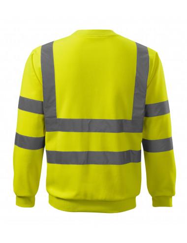 2Adler RIMECK Bluza unisex HV Essential 4V6 żółty odblaskowy