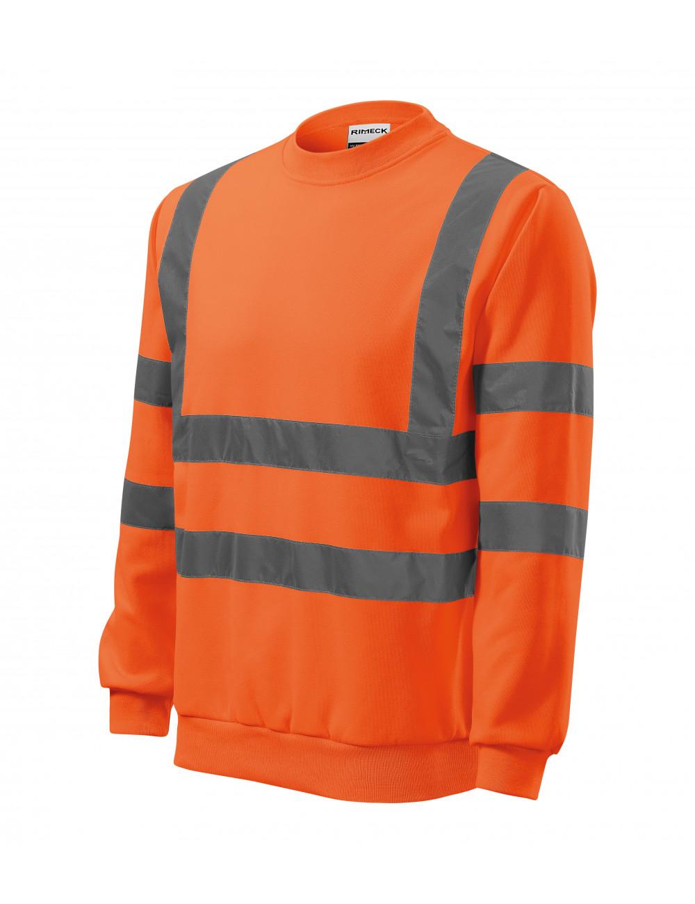 Adler RIMECK Bluza unisex HV Essential 4V6 odblaskowo pomarańczowy