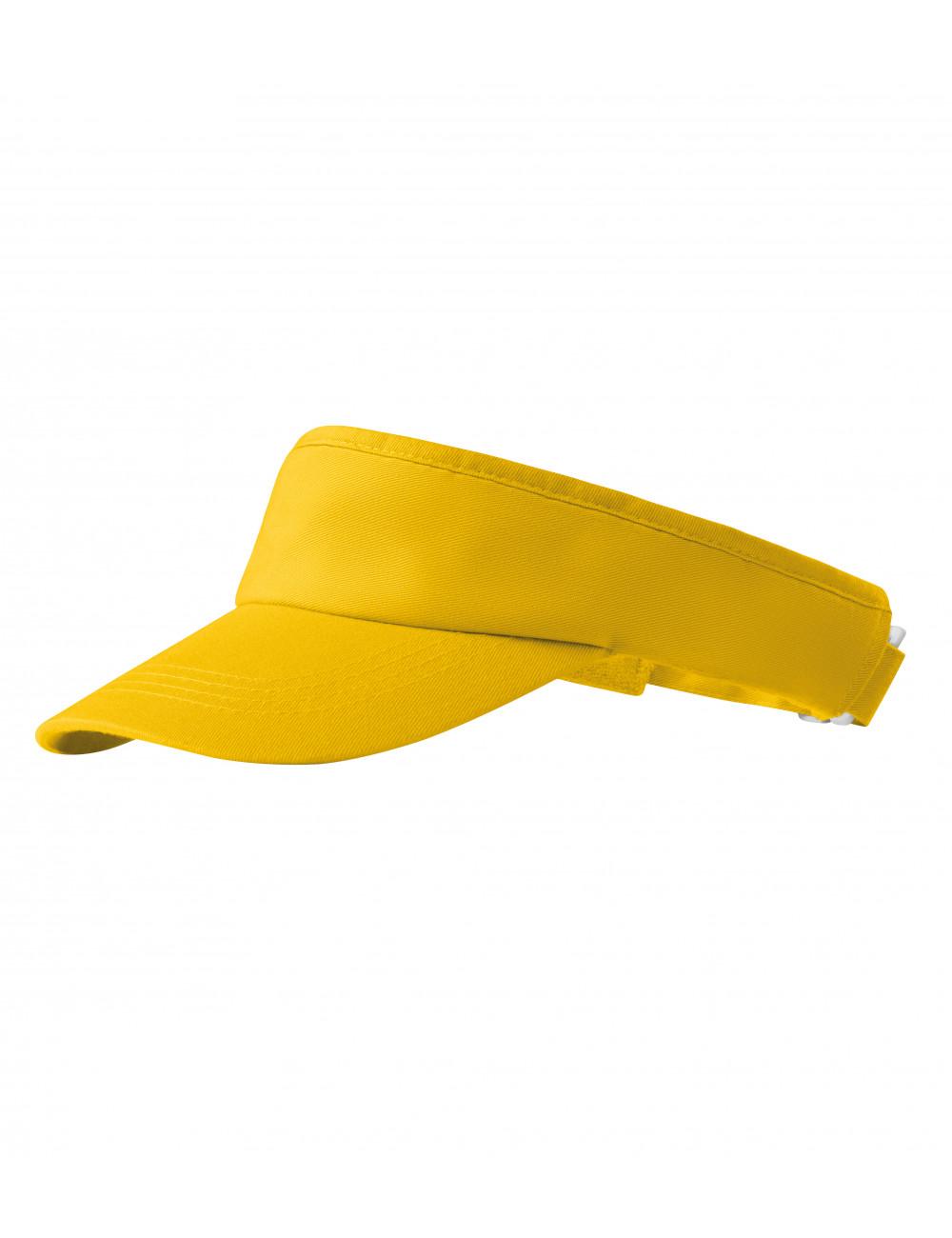 Adler MALFINI Daszki unisex Sunvisor 310 żółty