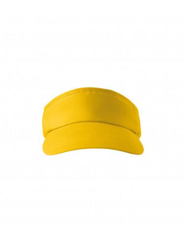 2Adler MALFINI Daszki unisex Sunvisor 310 żółty