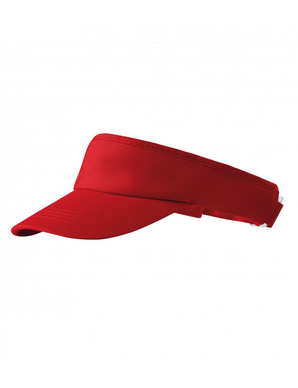 Adler MALFINI Daszki unisex Sunvisor 310 czerwony