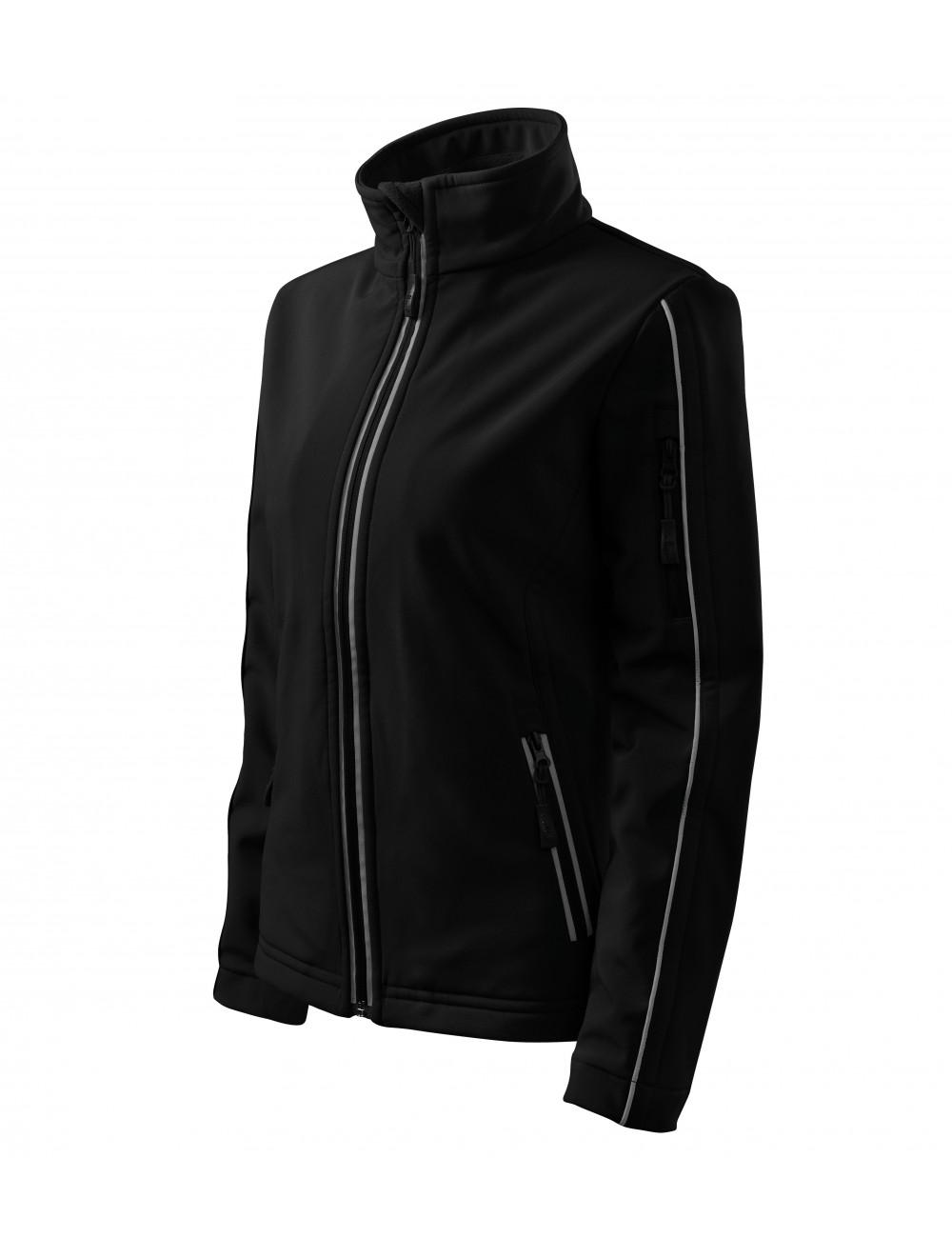 Adler MALFINI Kurtka damska Softshell Jacket 510 czarny