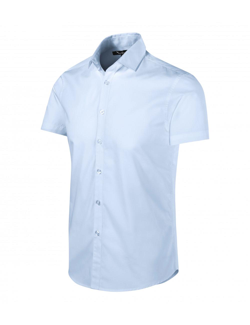 Adler MALFINIPREMIUM Koszula męska Flash 260 light blue