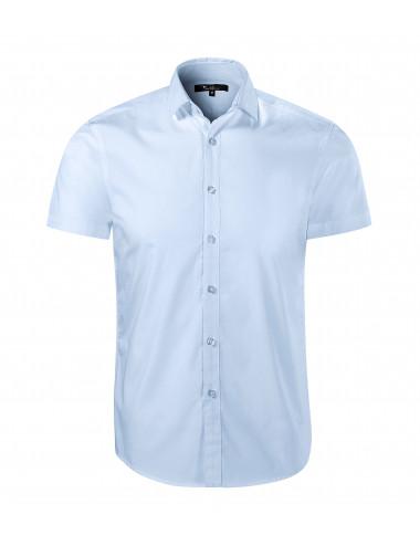 2Adler MALFINIPREMIUM Koszula męska Flash 260 light blue