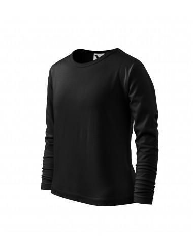 2Adler MALFINI Koszulka dziecięca Long Sleeve 121 czarny