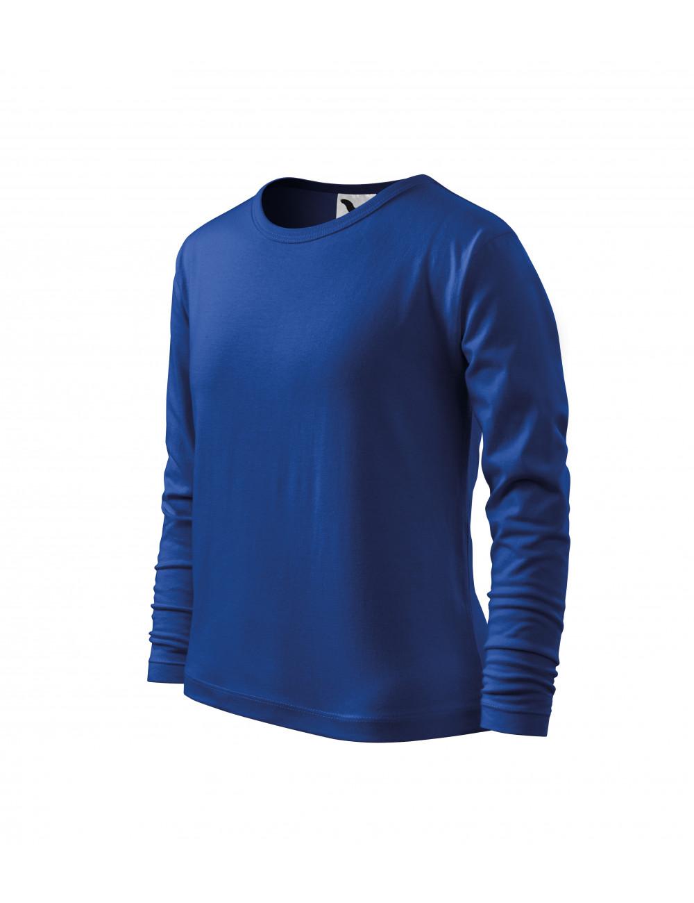 Adler MALFINI Koszulka dziecięca Long Sleeve 121 chabrowy