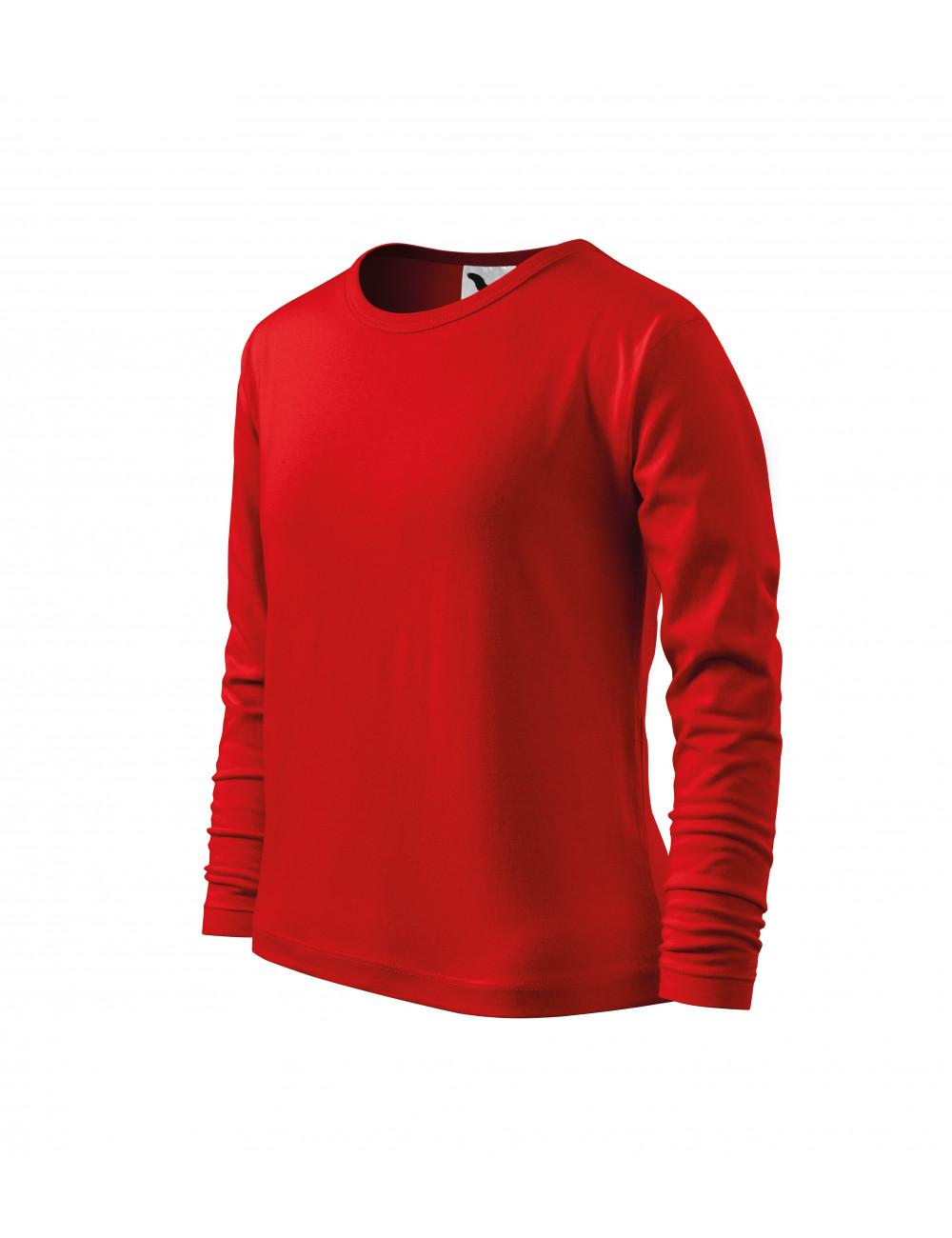 Adler MALFINI Koszulka dziecięca Long Sleeve 121 czerwony