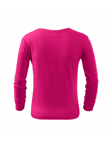 2Adler MALFINI Koszulka dziecięca Long Sleeve 121 malinowy