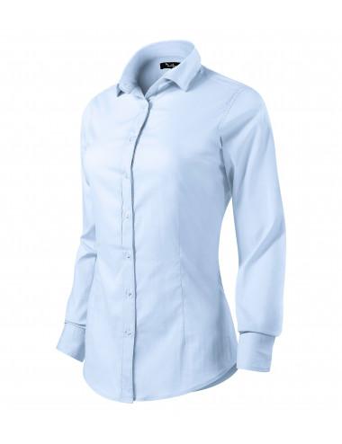 2Adler MALFINIPREMIUM Koszula damska Dynamic 263 light blue