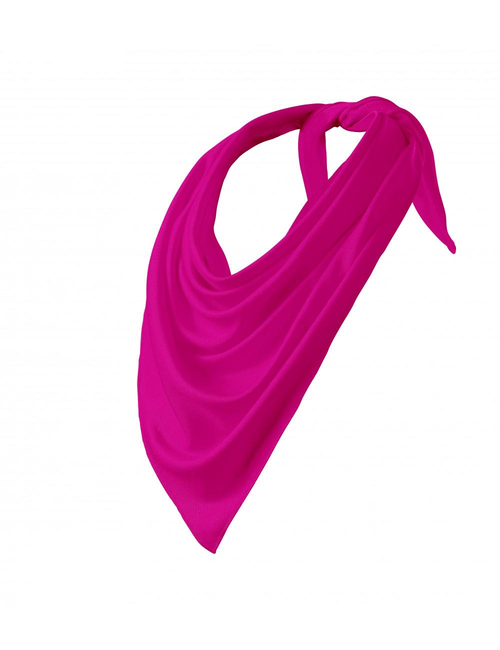 Adler MALFINI Scarf Unisex/Kids Relax 327 neon różowy