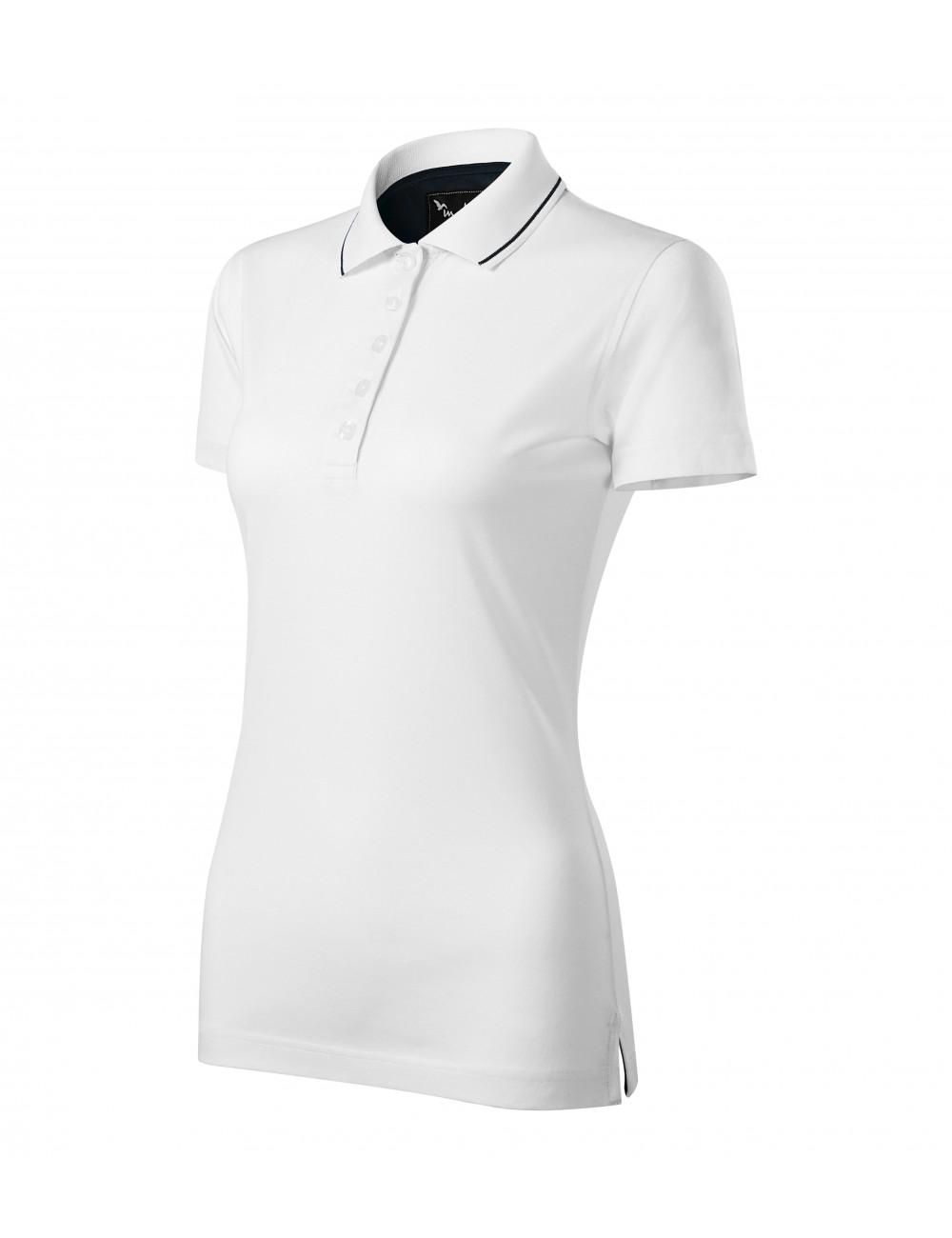 Adler MALFINIPREMIUM Koszulka polo damska Grand 269 biały
