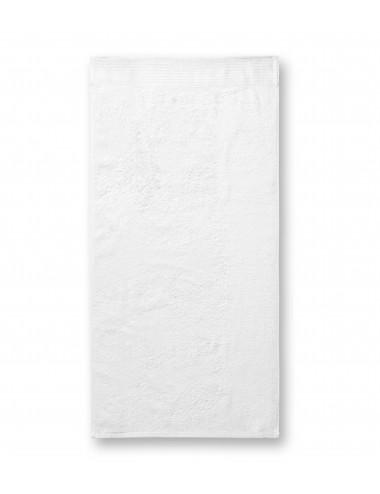 2Adler MALFINIPREMIUM Ręcznik duży unisex Bamboo Bath Towel 952 biały