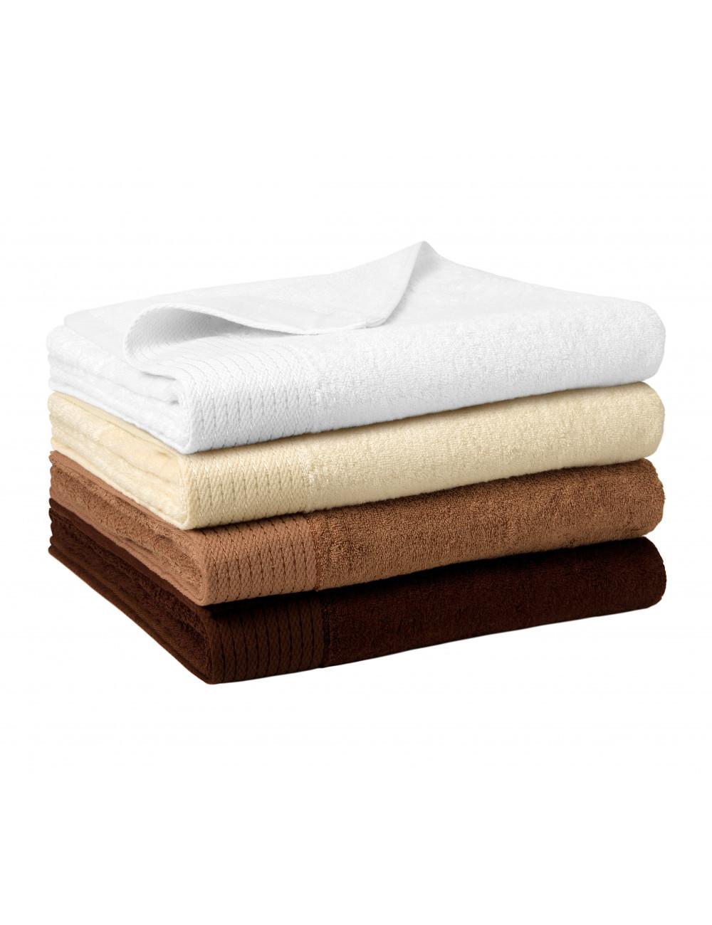 Adler MALFINIPREMIUM Ręcznik duży unisex Bamboo Bath Towel 952 nugatowy