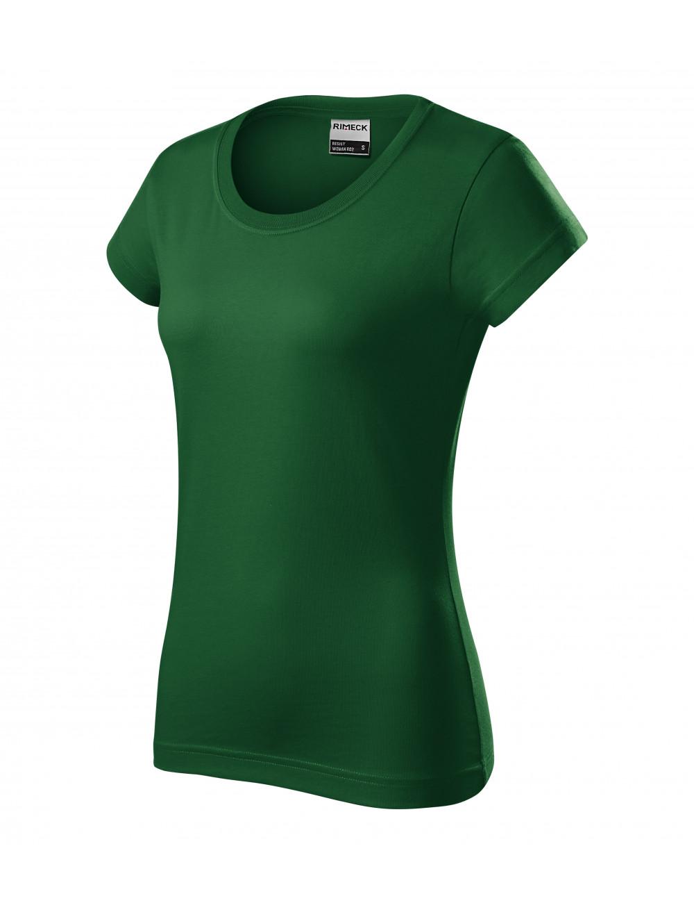 Adler RIMECK Koszulka damska Resist heavy R04 zieleń butelkowa