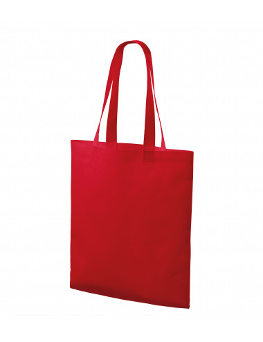 2Adler PICCOLIO Torba na zakupy unisex Bloom P91 czerwony