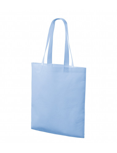 2Adler PICCOLIO Torba na zakupy unisex Bloom P91 błękitny