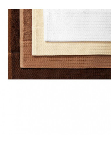 2Adler MALFINIPREMIUM Ręcznik unisex Bamboo Towel 951 biały