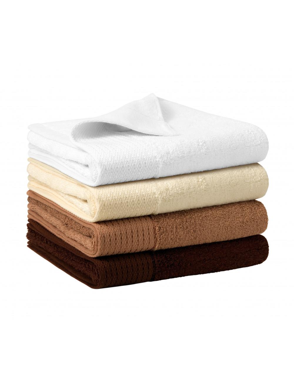 Adler MALFINIPREMIUM Ręcznik unisex Bamboo Towel 951 kawowy