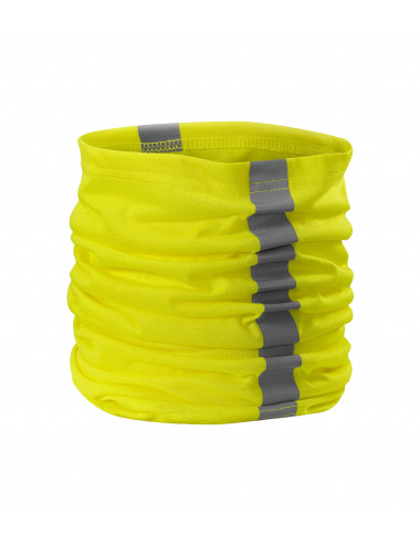 Adler RIMECK Chusta unisex HV Twister 3V8 żółty odblaskowy