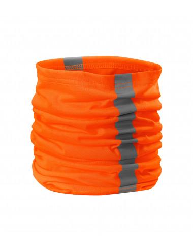 2Adler RIMECK Chusta unisex HV Twister 3V8 odblaskowo pomarańczowy