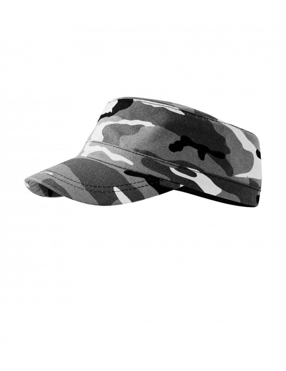 Adler MALFINI Czapka unisex Camo Latino C24 camouflage gray