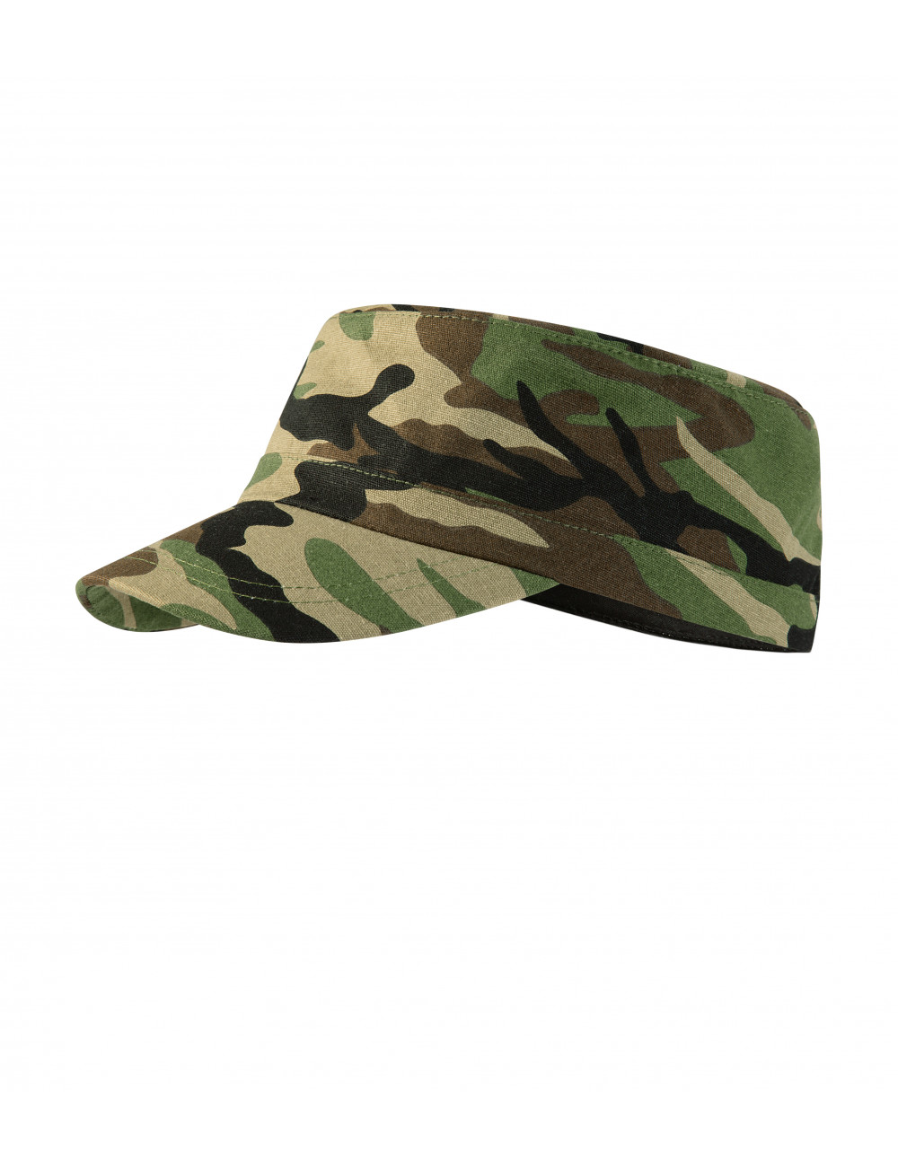 Adler MALFINI Czapka unisex Camo Latino C24 camouflage brown