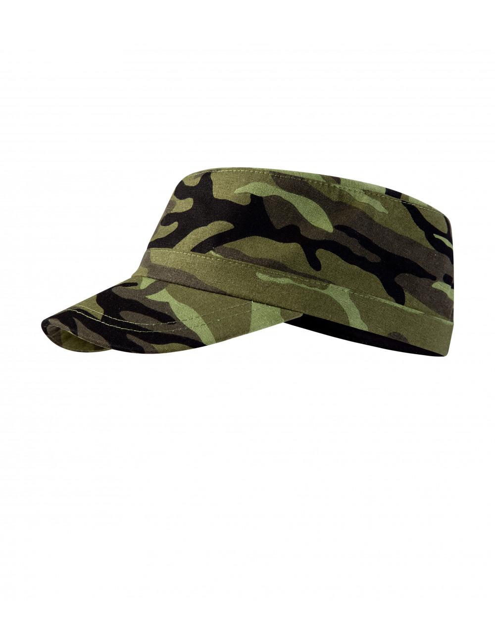 Adler MALFINI Czapka unisex Camo Latino C24 camouflage green