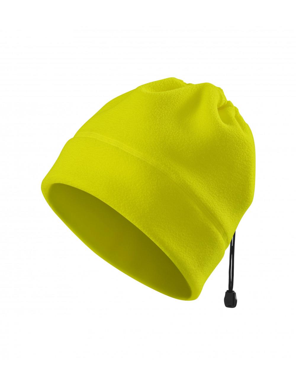 Adler RIMECK Czapka polarowa unisex HV Practic 5V9 żółty odblaskowy