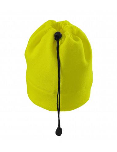 2Adler RIMECK Czapka polarowa unisex HV Practic 5V9 żółty odblaskowy