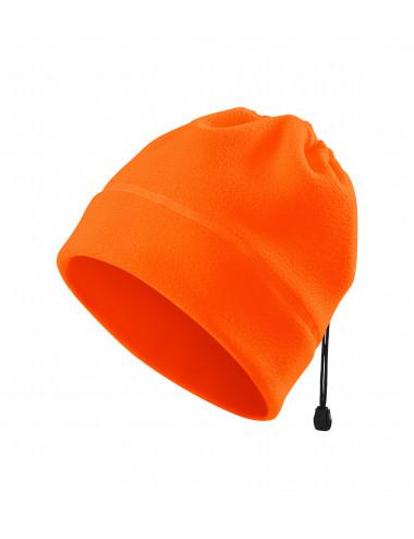 2Adler RIMECK Czapka polarowa unisex HV Practic 5V9 odblaskowo pomarańczowy