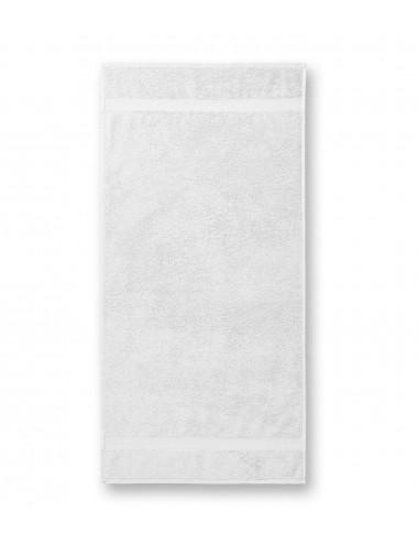2Adler MALFINI Ręcznik duży unisex Terry Bath Towel 905 biały
