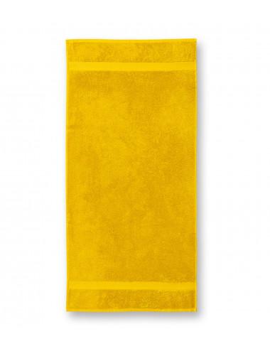 2Adler MALFINI Ręcznik duży unisex Terry Bath Towel 905 żółty
