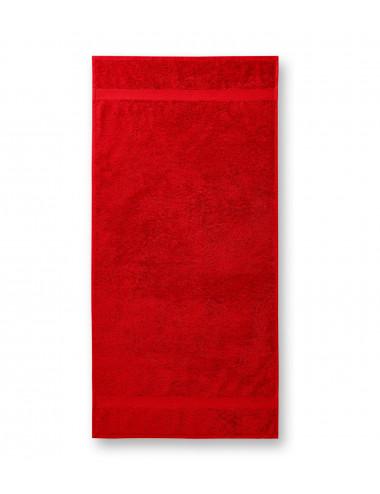 2Adler MALFINI Ręcznik duży unisex Terry Bath Towel 905 czerwony