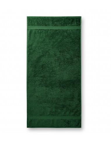 2Adler MALFINI Ręcznik unisex Terry Towel 903 zieleń butelkowa