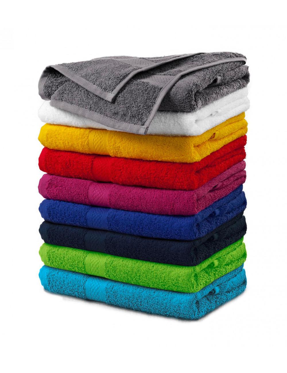 Adler MALFINI Ręcznik unisex Terry Towel 903 szaroczarny melanż