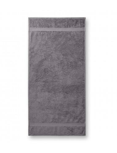 2Adler MALFINI Ręcznik unisex Terry Towel 903 szaroczarny melanż