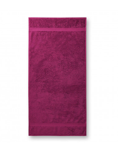 2Adler MALFINI Ręcznik unisex Terry Towel 903 fuchsia red