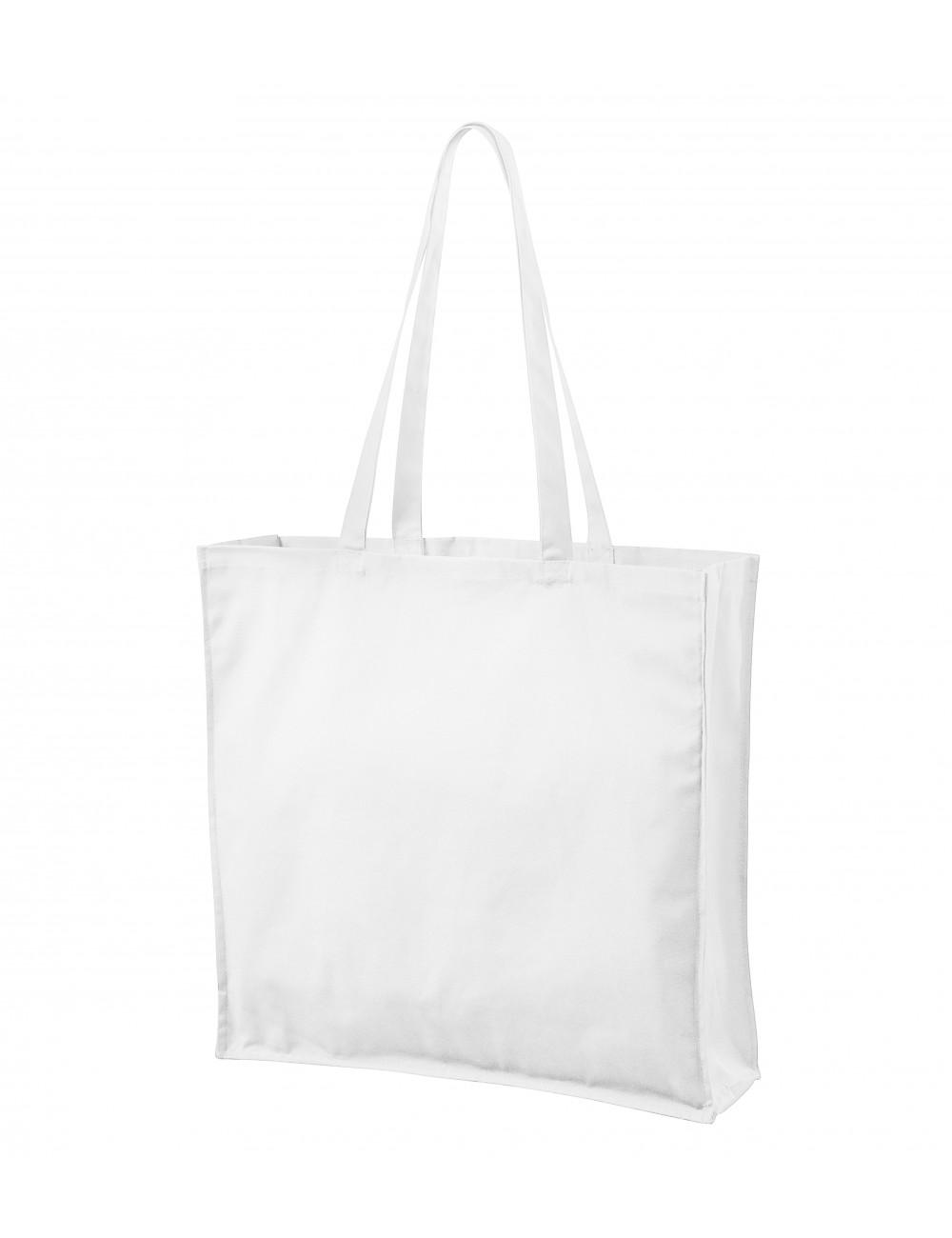 Adler MALFINI Torba na zakupy unisex Carry 901 biały