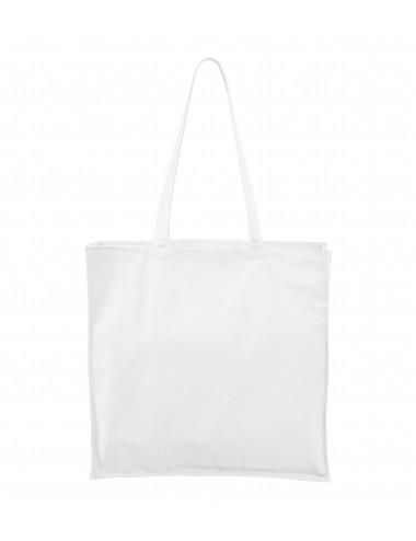 2Adler MALFINI Torba na zakupy unisex Carry 901 biały