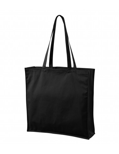 2Adler MALFINI Torba na zakupy unisex Carry 901 czarny
