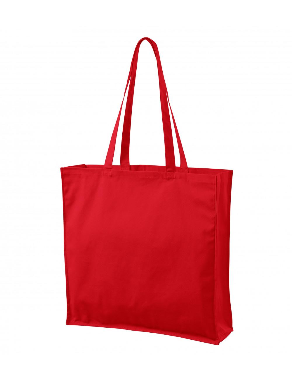 Adler MALFINI Torba na zakupy unisex Carry 901 czerwony